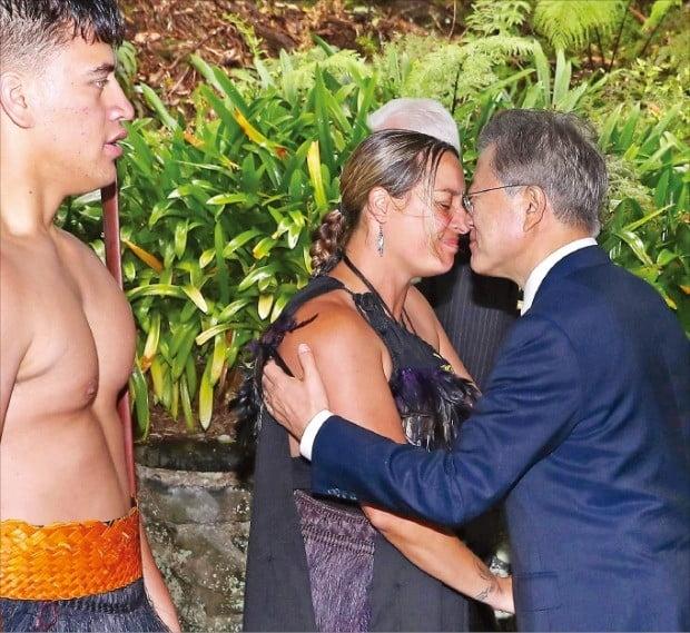 뉴질랜드 국빈 방문한 문재인 대통령