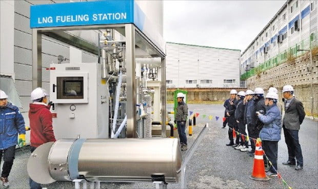 발맥스기술, 패키지형 LNG충전 시스템 시연회