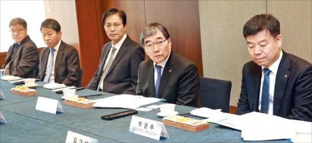 회계법인 CEO들 만난 금감원장