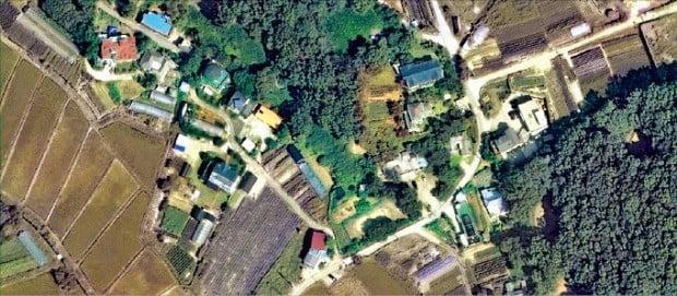 3기 신도시 후보지로 거론되면서 토지 거래량이 급증한 경기 김포 고촌읍 일대.  /다음지도 캡처