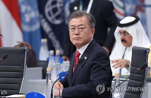"""靑 """"문대통령, '청와대 특감반원 비위 의혹' 충분히 보고 받아"""""""