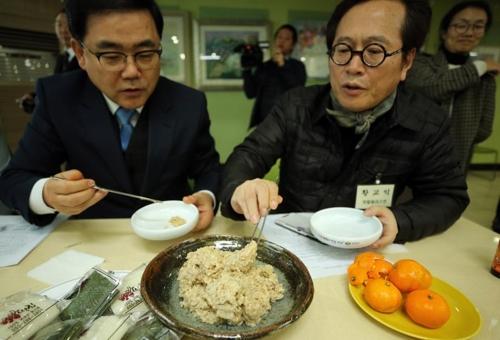 """215년 만에 재현한 '감성돔 식해' 맛은…""""막걸리와 어울려"""""""