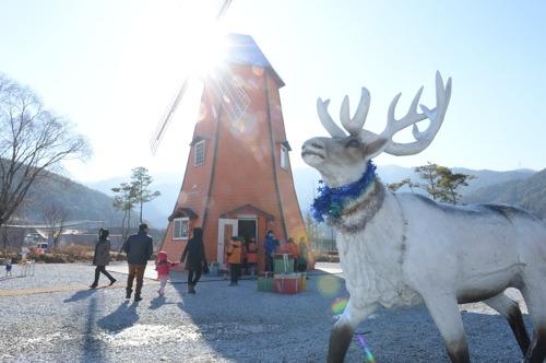 봉화 '산타마을' 운영 시작…내년 2월 17일까지