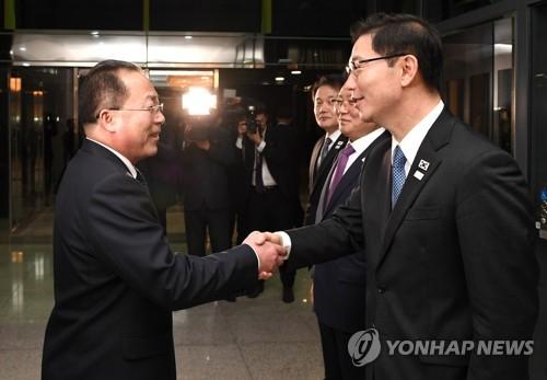 南천해성-北전종수, 오늘 남북공동연락사무소 소장회의