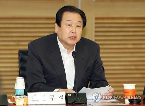 """김무성, 전대 불출마…""""전대는 당 화합·통합 계기돼야"""""""