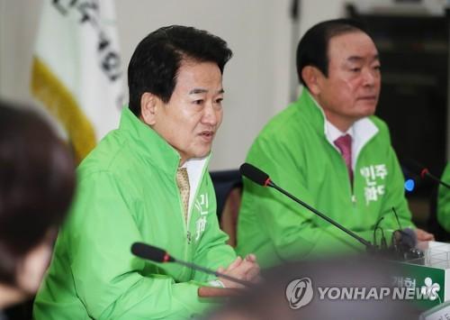 """정동영 """"대통령 요새 혼자 식사…위험신호"""""""