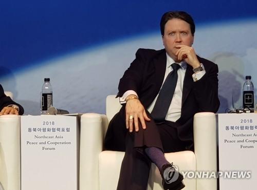 """내퍼 美부차관보대행 """"김정은 답방 기대…비핵화해야 밝은 미래"""""""