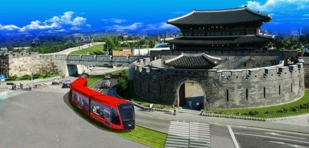 수원시 트램 조감도(사진=연합뉴스)