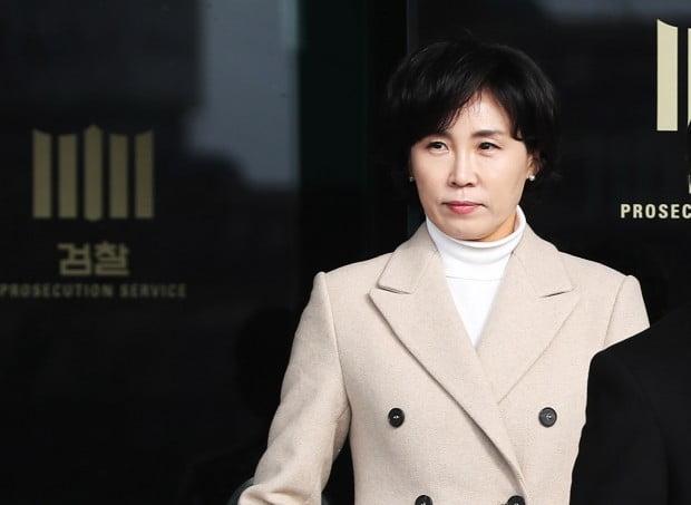 점심식사 위해 검찰 청사 나오는 김혜경씨 /사진=연합뉴스