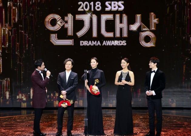 '키스 먼저 할까요' 감우성X김선아, 'SBS 연기대상' 나란히 대상 수상