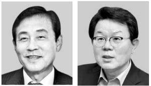 김정태 하나금융 회장·김광수 농협금융 회장