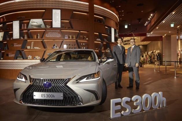 렉서스가 지난해 10월 공식 출시한 신형 ES300h / 사진=렉서스코리아