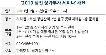 [한경부동산] 오는 25일 실전 상가 투자 무료세미나 개최