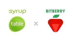시럽테이블, 간편 암호화폐지갑 '비트베리'와 기업용 API 연동