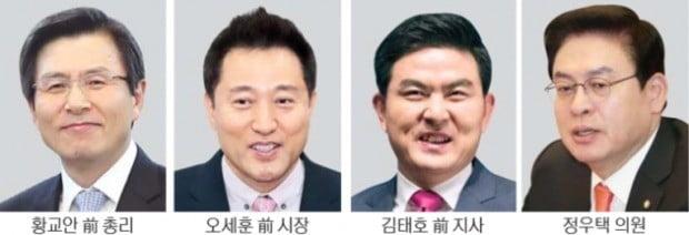 한국당 '막강 당대표'체제 유지…보수 잠룡들, 全大서 '진검승부' 예고