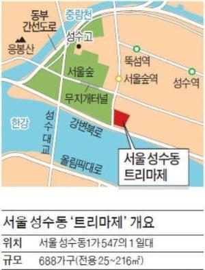 BTS 정국까지 가세…★천지된 성수동 트리마제 들여다보니