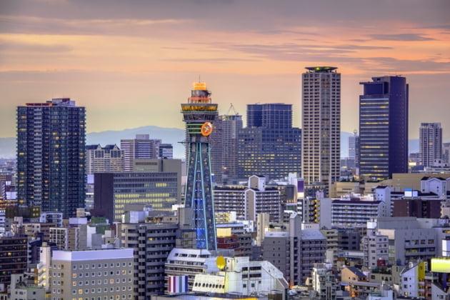 오사카 전경, 게티이미지