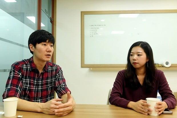 진민구 펫픽(PETPICK) 공동대표(34·왼쪽 사진). 박은별 공동대표(27·오른쪽 사진). 사진=최혁 한경닷컴 기자