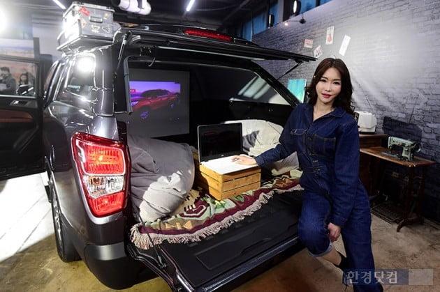 [HK영상] 쌍용' 렉스턴 스포츠 칸' 공식 출시...2838만~3367만원