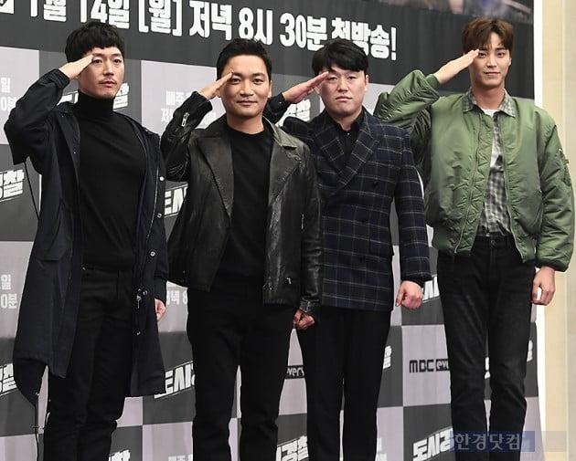 [포토] 장혁-조재윤-김민재-이태환, '보기만 해도 듬직하네~'