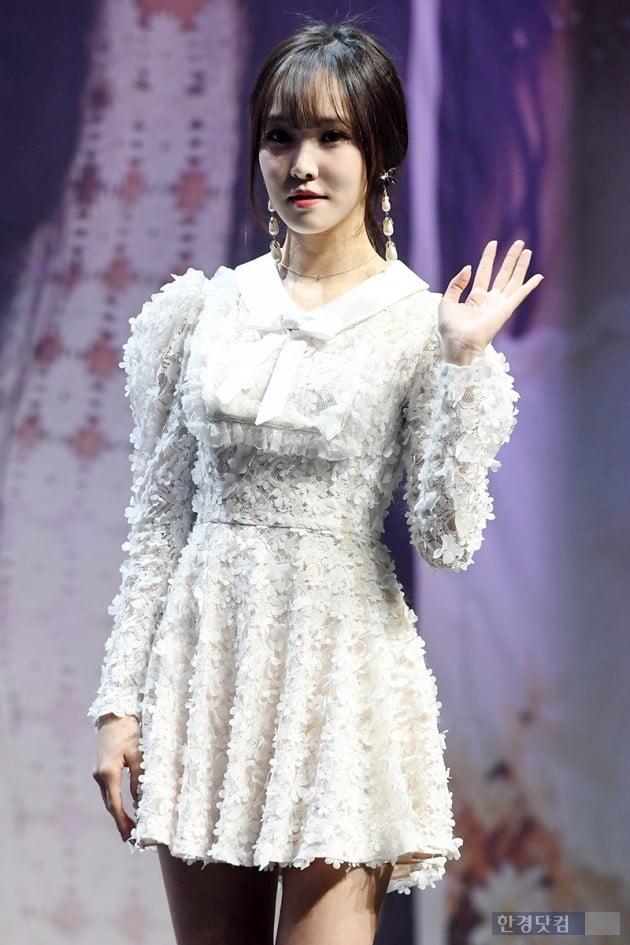 [포토] 여자친구 유주, '건강 회복~'