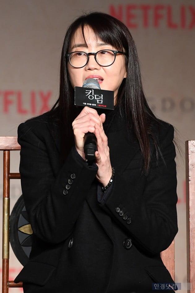 [포토] 김은희 작가, '믿고 보는 스토리텔러'