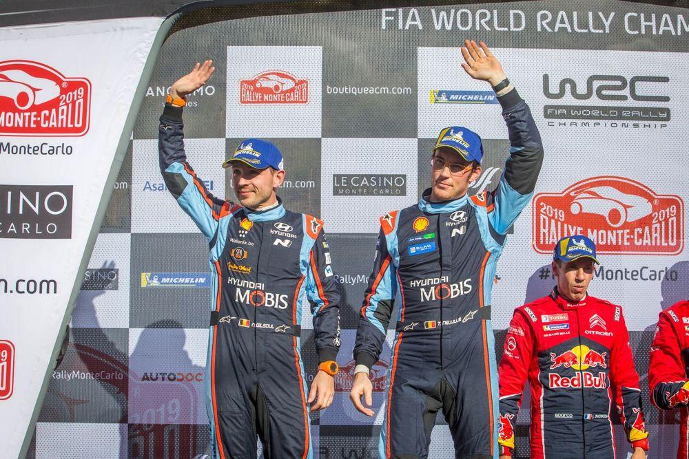 현대차 월드랠리팀, 올해 WRC 첫 입상