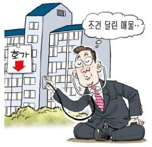 """집값 급락에 新유행어…""""증여일 것"""" """"조건 달린 매물"""""""