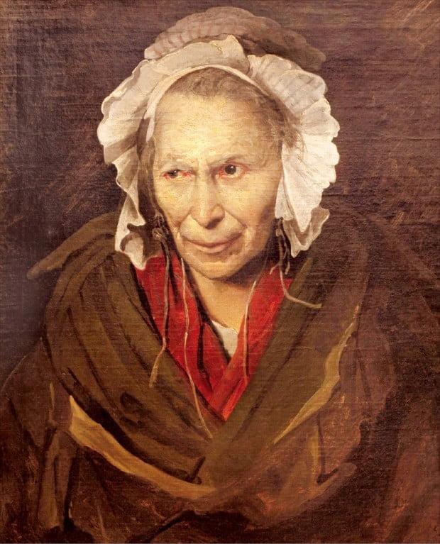 테오도르 제리코(1791~1824)의 '시기하는 여인'(1819~1822년, 유화, 72×58㎝). 프랑스 리옹미술관 소장.