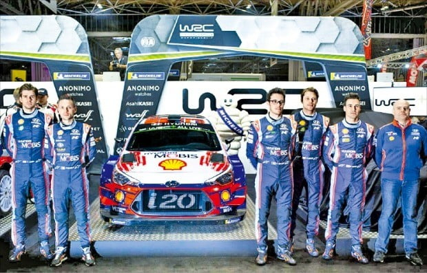 """""""WRC·WTCR 우승 가자!""""…현대차, 출전선수 명단 확정"""