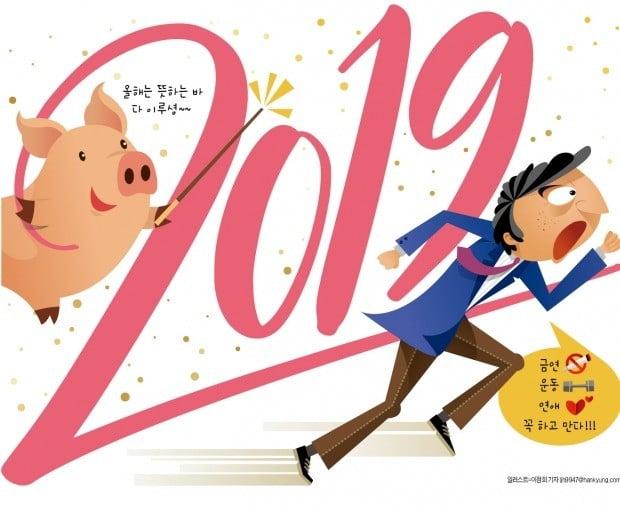 [김과장&이대리] 새해 목표 달성, 열정과 핑계 사이
