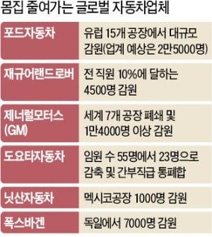글로벌 車기업, 사활 건 구조조정 나섰는데…'노조 리스크'로 옴짝달싹 못하는 한국