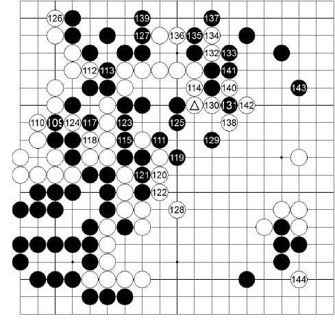 [제23기 하림배 여자국수전] 黑으로 기운 승부
