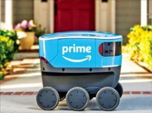 아마존, 또 '배송 혁신'…자율주행 로봇 투입한다