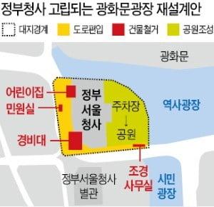 김부겸 행정안전부 장관-박원순 서울시장 '광화문 충돌'