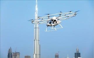 독일 볼로콥터에서 개발 중인 플라잉카 '2X'.  볼로콥터 제공