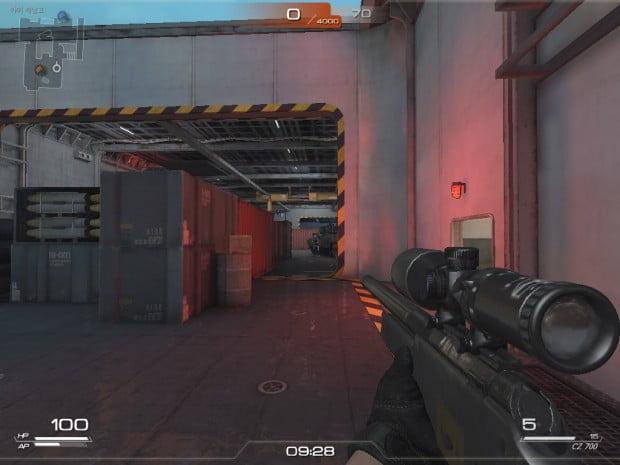 사진설명=FPS 게임 '스페셜포스2' 캡처