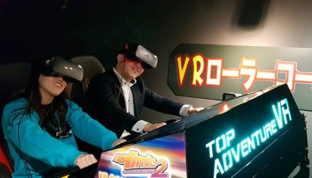 모션디바이스, 일본 도쿄에 VR 롤러코스터 공급