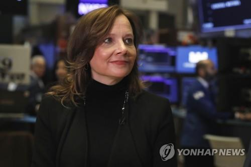 "GM CEO ""2018실적 기대이상, 새해 더 좋아""…주가 7% 급등"