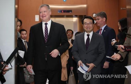 韓美 내주 워킹그룹 화상회의…북미회담前 대북현안 세부조율