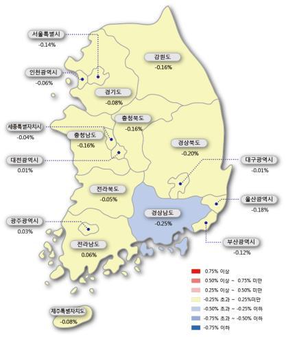 """""""공시가격 급등하나""""…서울 아파트값 5년5개월 만에 최대 하락"""