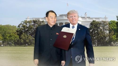 김영철, 트럼프·폼페이오와 2차회담 최종조율…'워싱턴 담판'