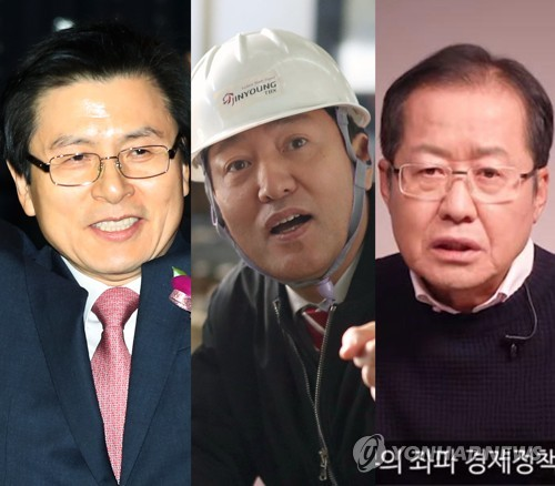 황교안 뛰자 김무성·김병준·홍준표도…한국당 당권도전 '들썩'