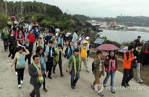 중국 춘제 기간 중화권 관광객 2만1000명 제주 찾는다
