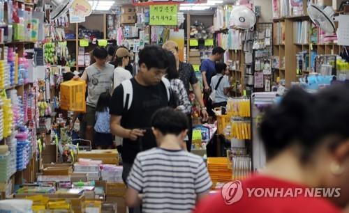 작년 도·소매업 1인 자영업자 5만6000명 줄어…일용직도 급감