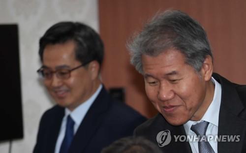김수현·김광두·김상조, 삼성·SK·LG 만나…재계소통 박차