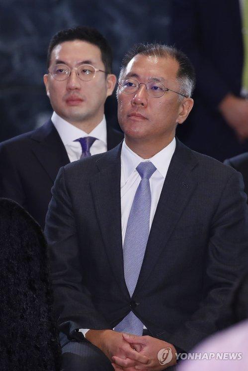 '세대교체' 4대 기업 총수, 신년회서 처음으로 한 자리 '눈길'