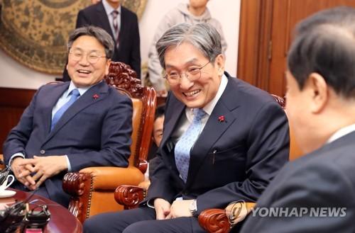 노영민·강기정, 오전 국회 찾아 여야 대표에 취임인사 예정