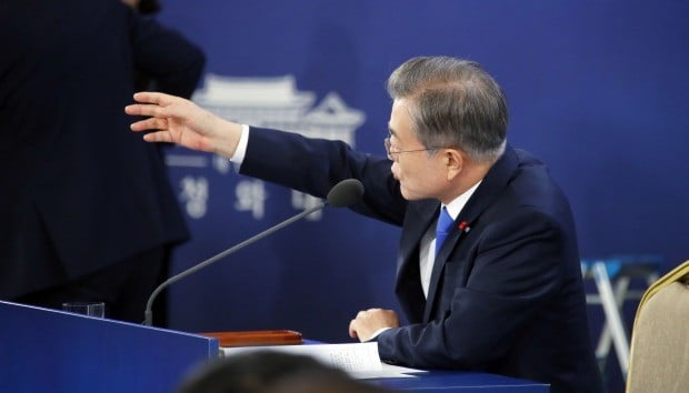 문 대통령 신년 기자회견 (사진=연합뉴스)