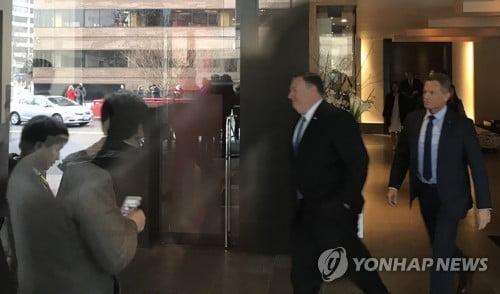 김영철, 트럼프 대통령과 백악관 집무실서 만나